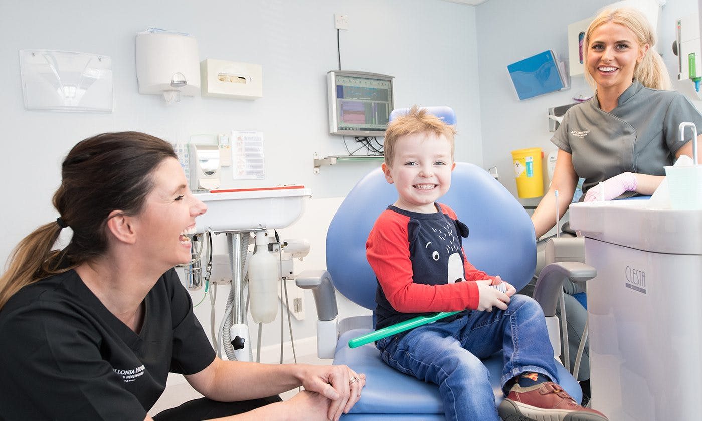 Child With Dentist Elms Lea 2