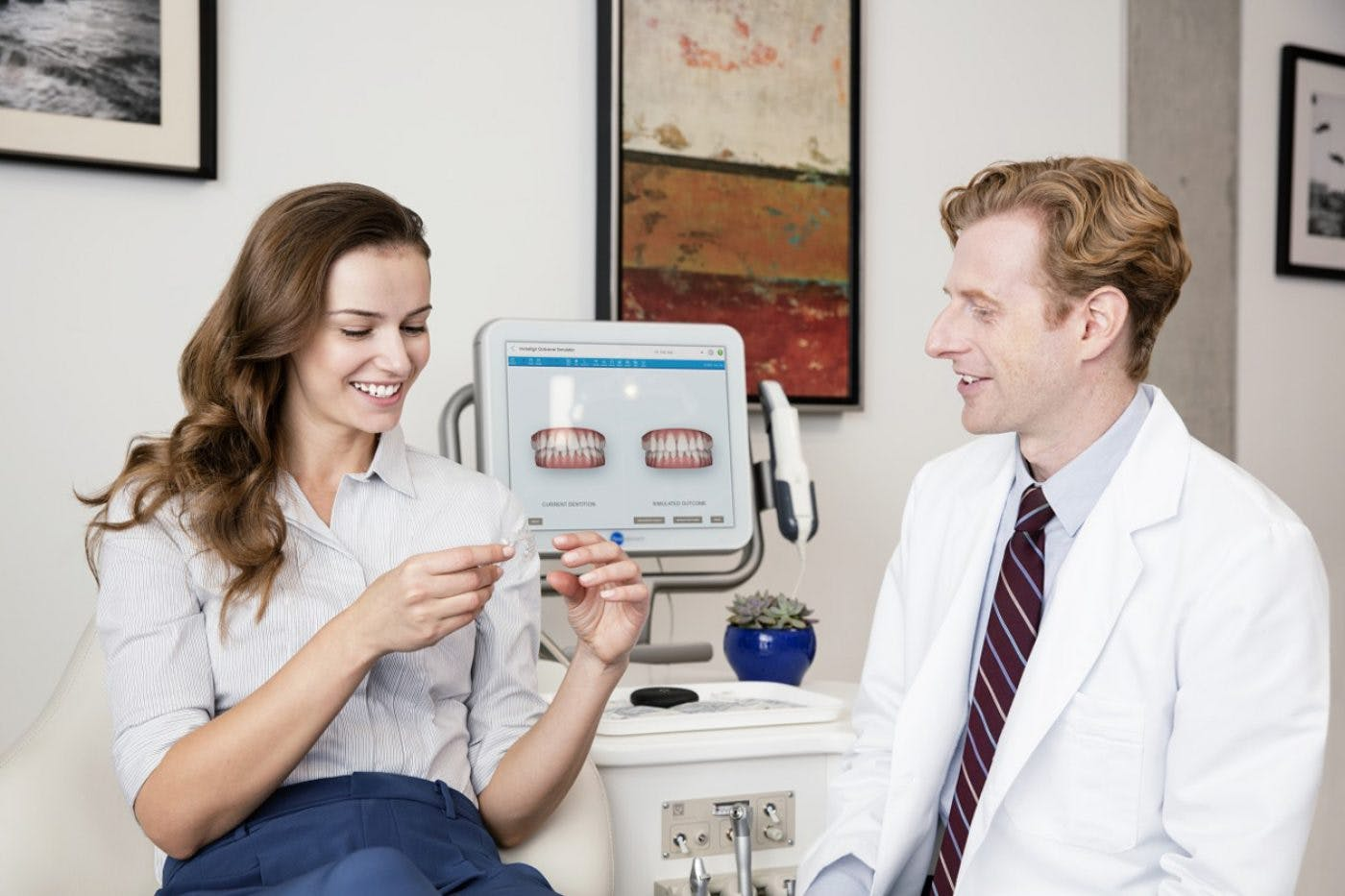 Longwell Green Invisalign Femaile Consltationjpg