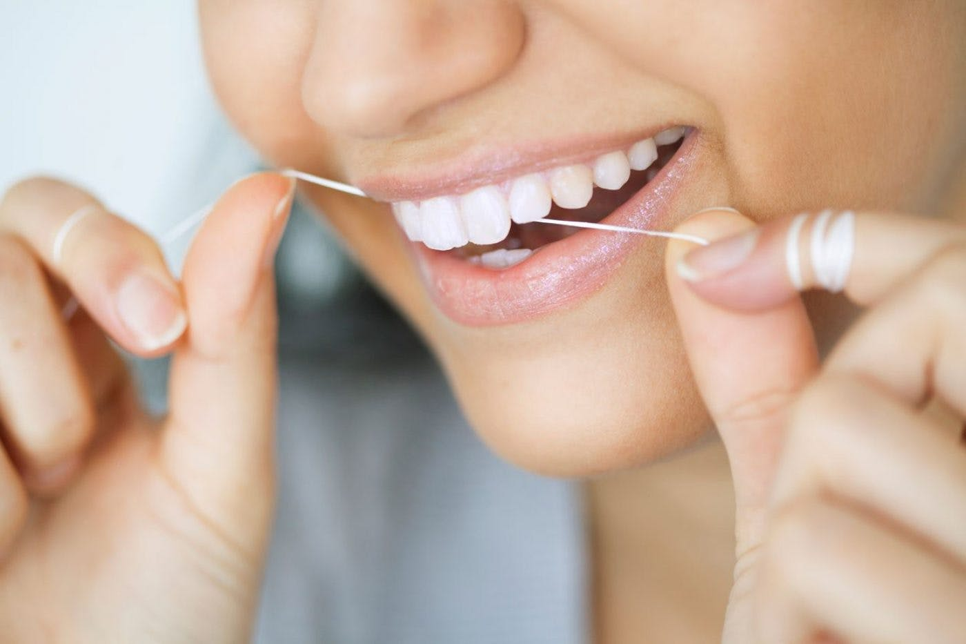 Care And Advice Flossing Shore Road Dental Belfast