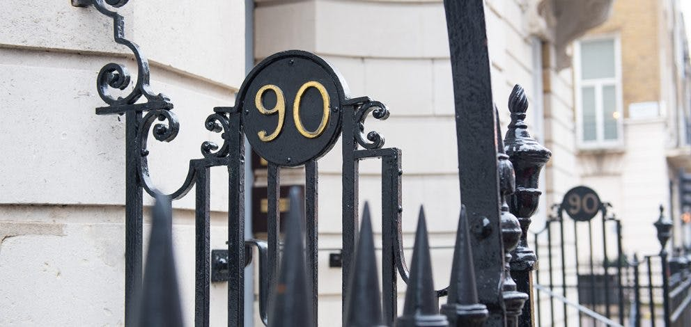 Exterior Number 90 Gate